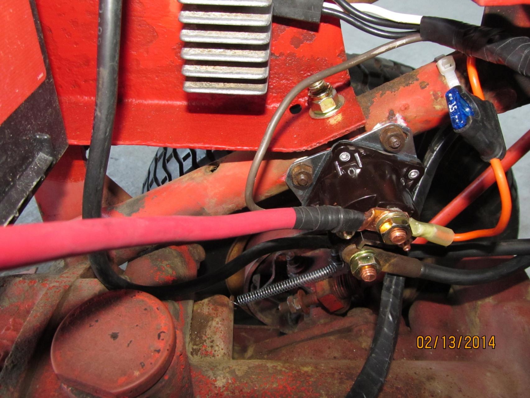 Please Help Kohler K341 Gravely 5865 Burning Coils New Wiring Voltage Regulator Diagram Click Image For Larger Version Name Gravley Re Assembly 003a Views