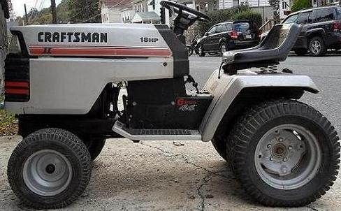My new 1986 Craftsman II GT18 6 speed with pics MyTractorForum
