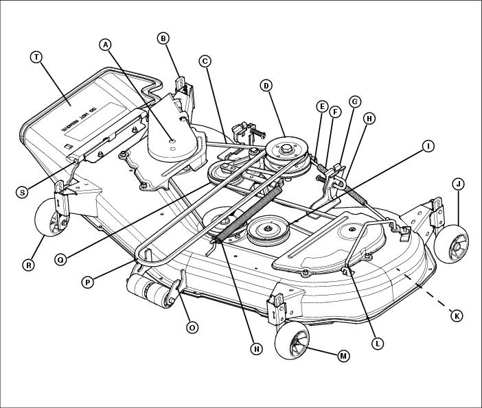 I Need A Belt Diagram For My John Deere Lx277 Riding Mower Manual Guide