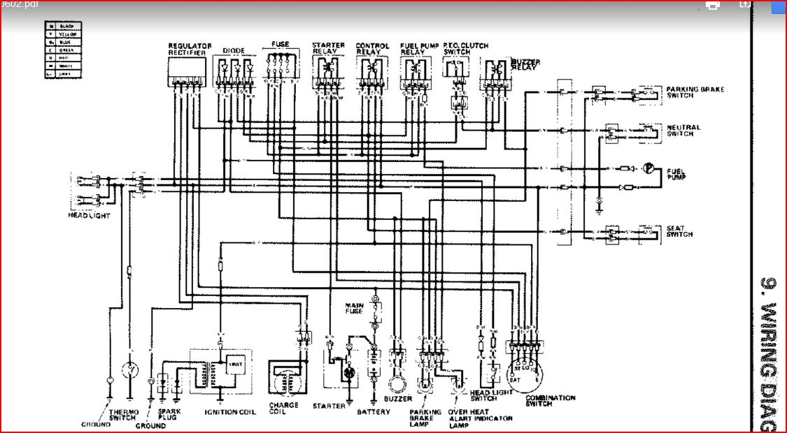 honda 4514 wiring diagram schematic ht3813 completely dead no power battery good my tractor forum  ht3813 completely dead no power
