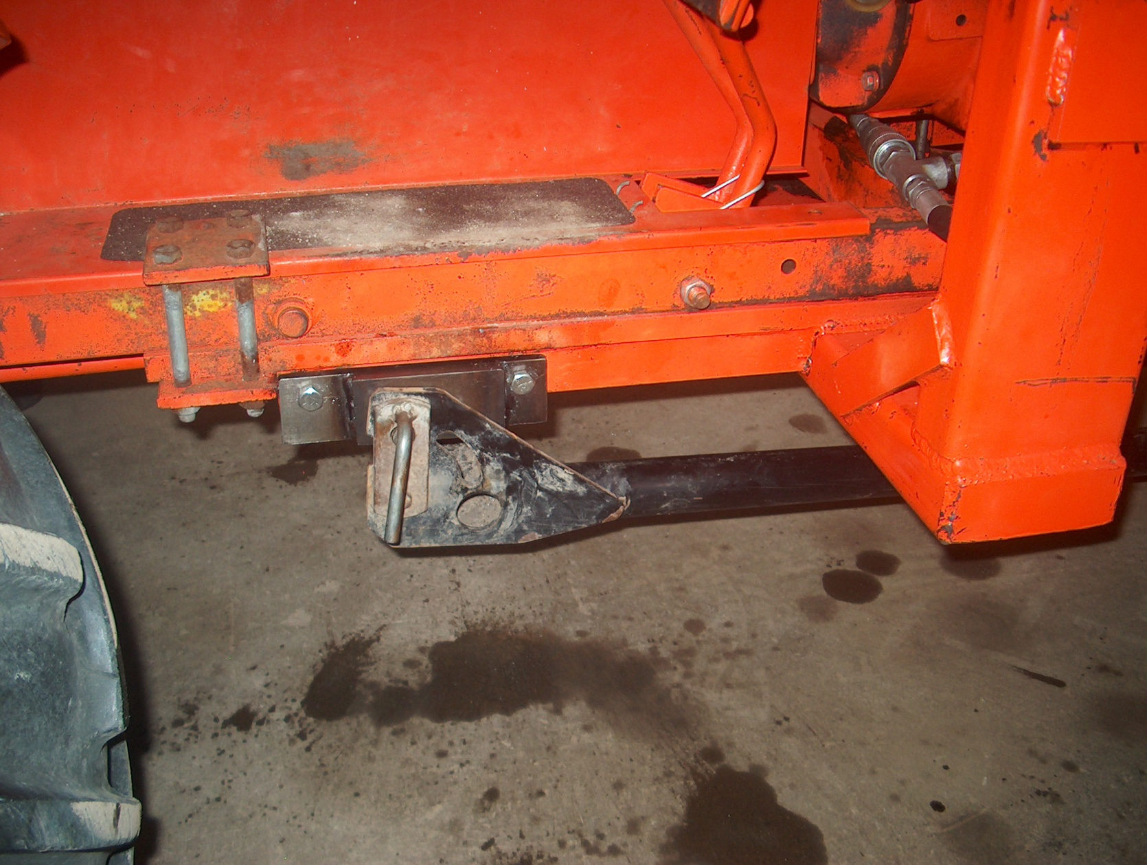Power King Economy Tractor Snow Plow Skid Shoes