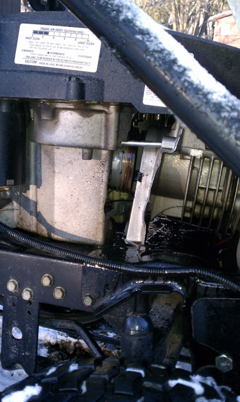 Repowering 2006 LT1045 with cracked engine - MyTractorForum com