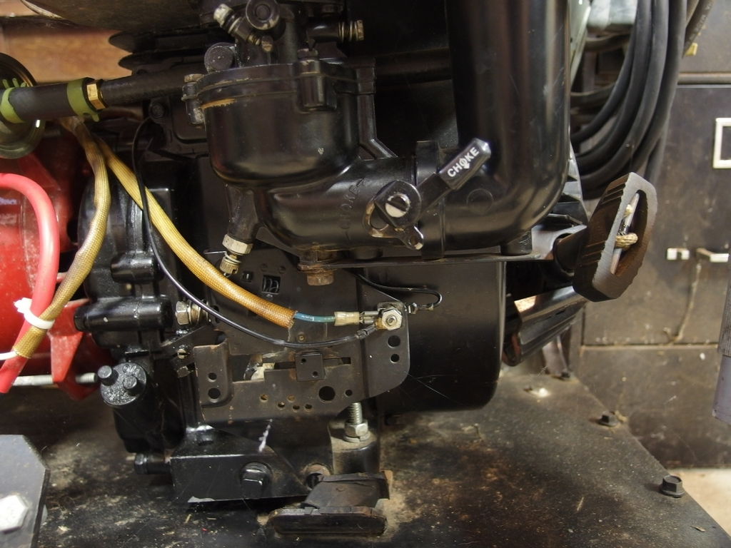 help wiring up electric start b s motor mytractorforum com the click image for larger version image 02 jpg views 119 size