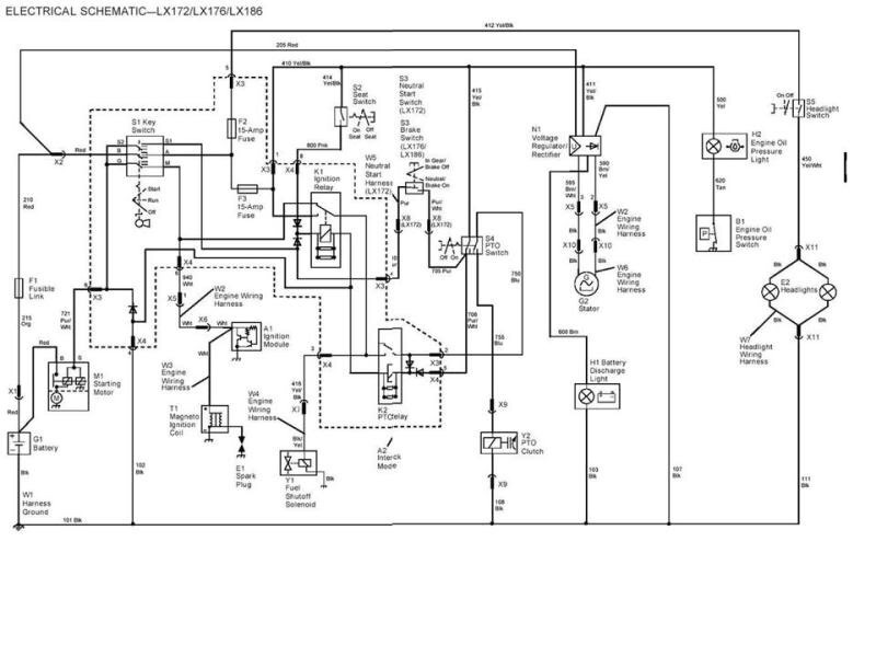 l john deere wiring diagram john deere stx38 pto switch wiring diagram the wiring john deere stx38 pto wiring diagram