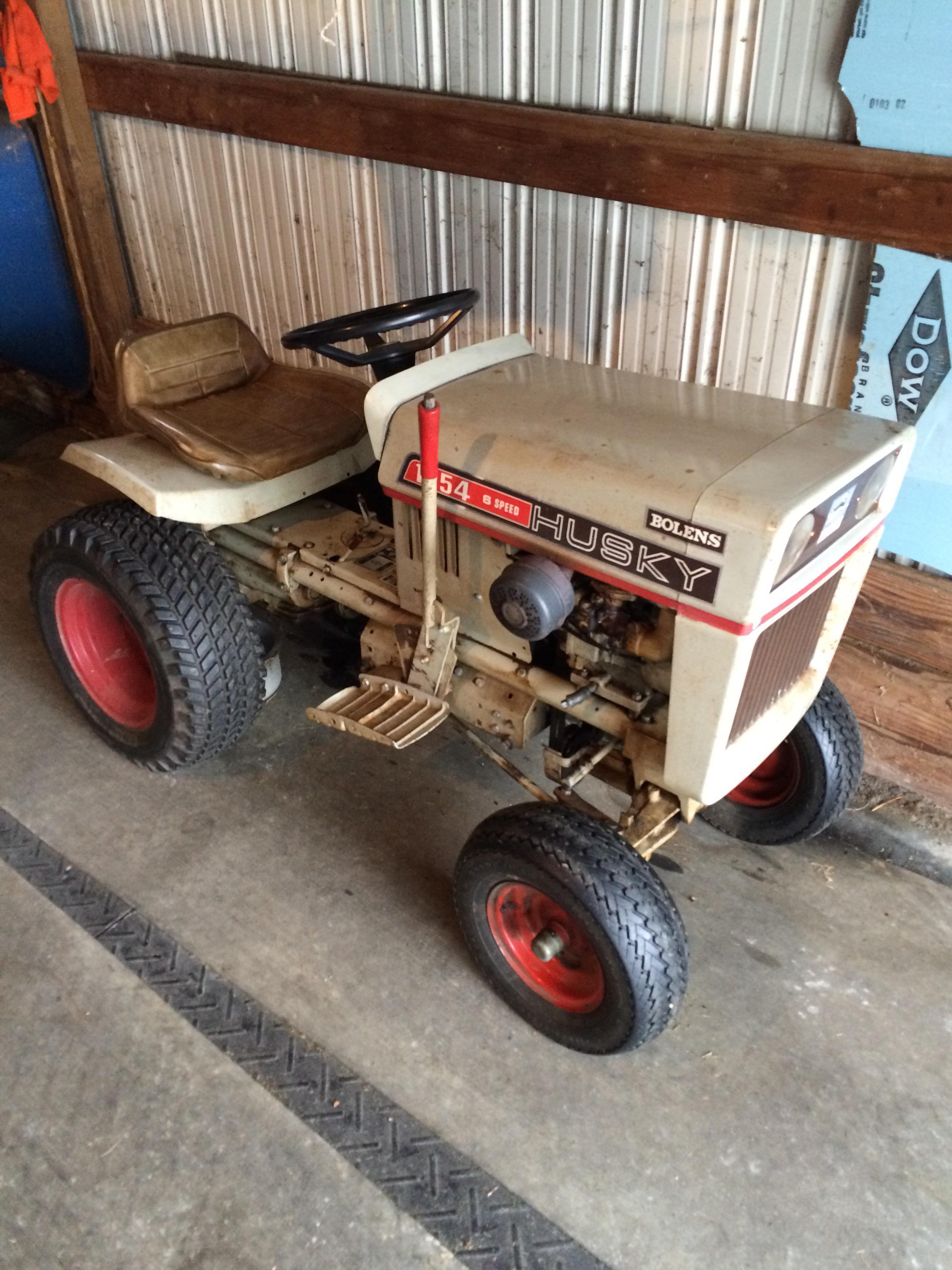 72 Bolens Husky 1054 - MyTractorForum com - The Friendliest Tractor