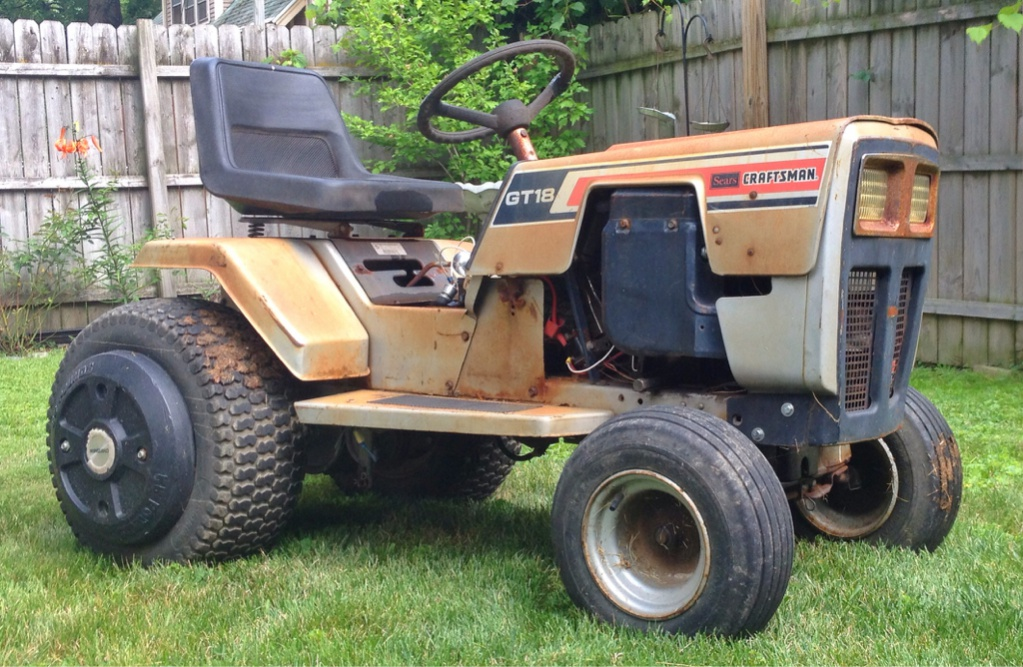 Murray built Sears GT18 | My Tractor ForumMy Tractor Forum