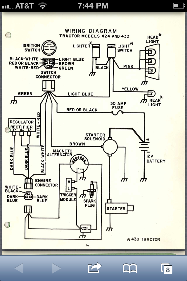 Onan Nb Ignition - Principals Of Operation And Wiring - Mytractorforum Com