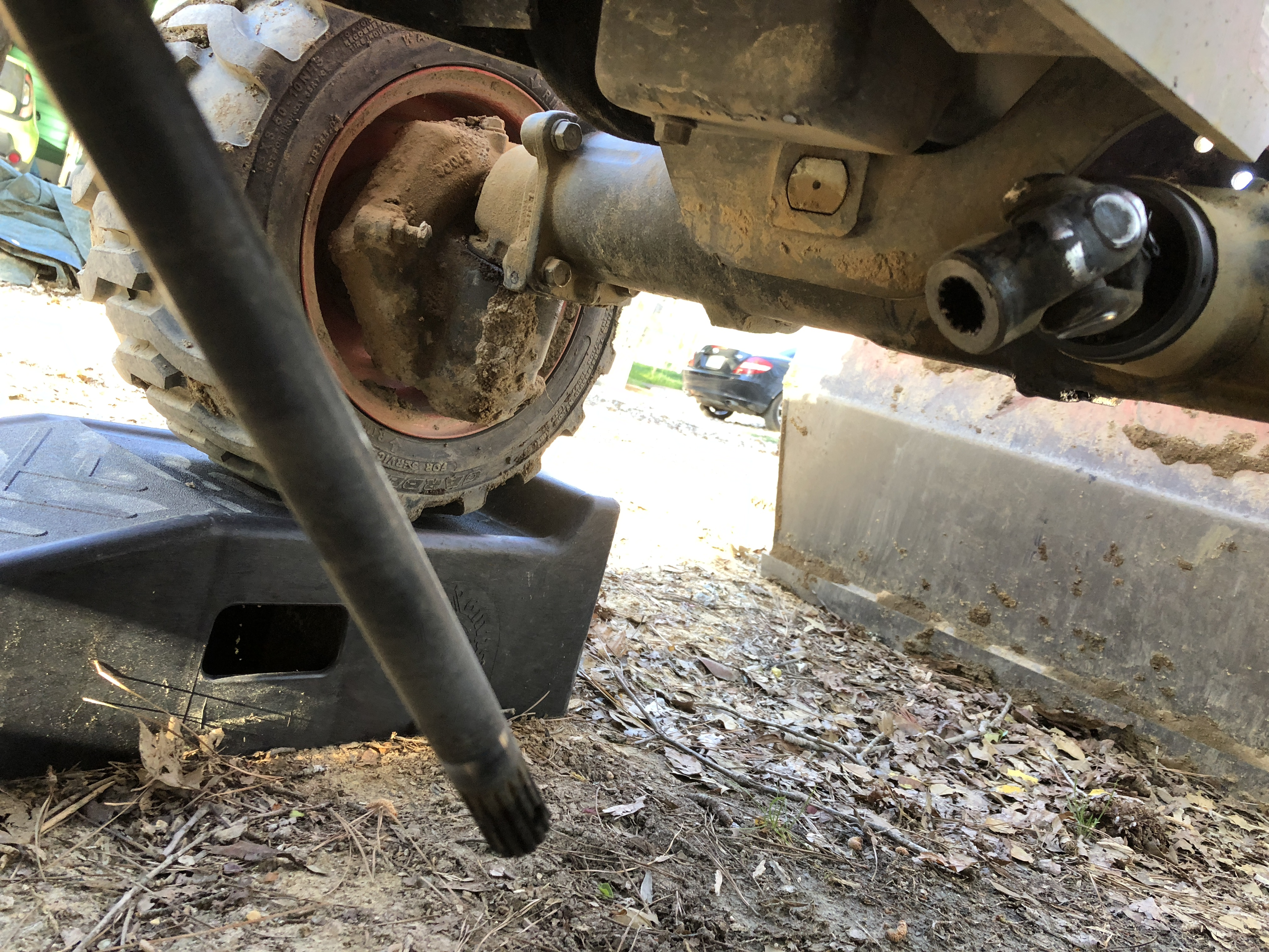 BX25D - Front Drive Shaft Separated - MyTractorForum com