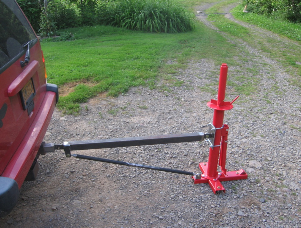 Harbor Freight Portable Tire Changer Hitch Mount.... - MyTractorForum ...