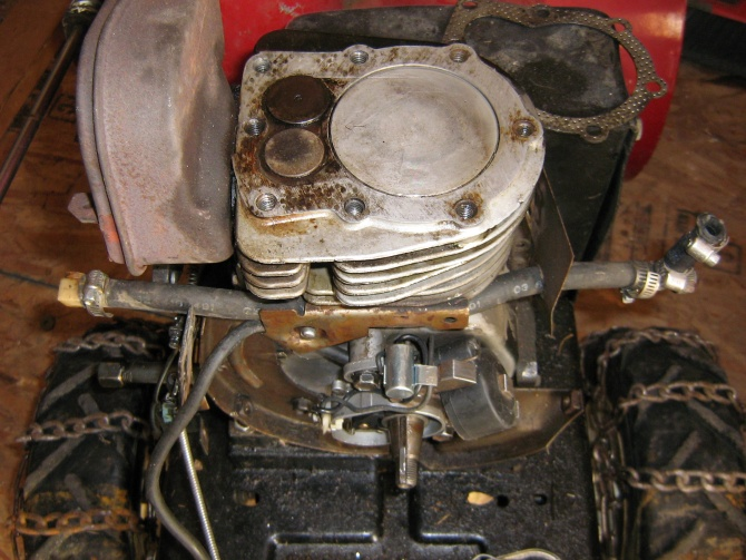 Re: No spark from Magnet's tecumseh 8hp   My Tractor Forum