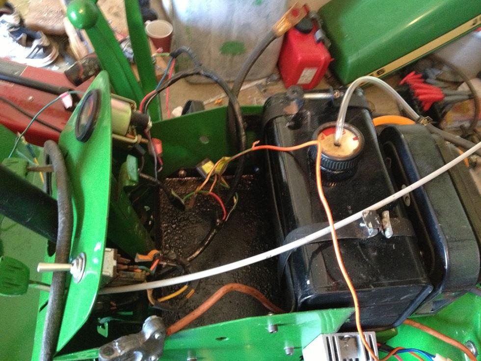 John Deere 4430 Cab Wiring Diagram furthermore Installing Neutral Safety Switch additionally John Deere Neutral Safety Switch Location together with Tractor Starter Wiring Diagram moreover John Deere 3010 12 Volt Wiring Diagram. on john deere neutral safety switch location