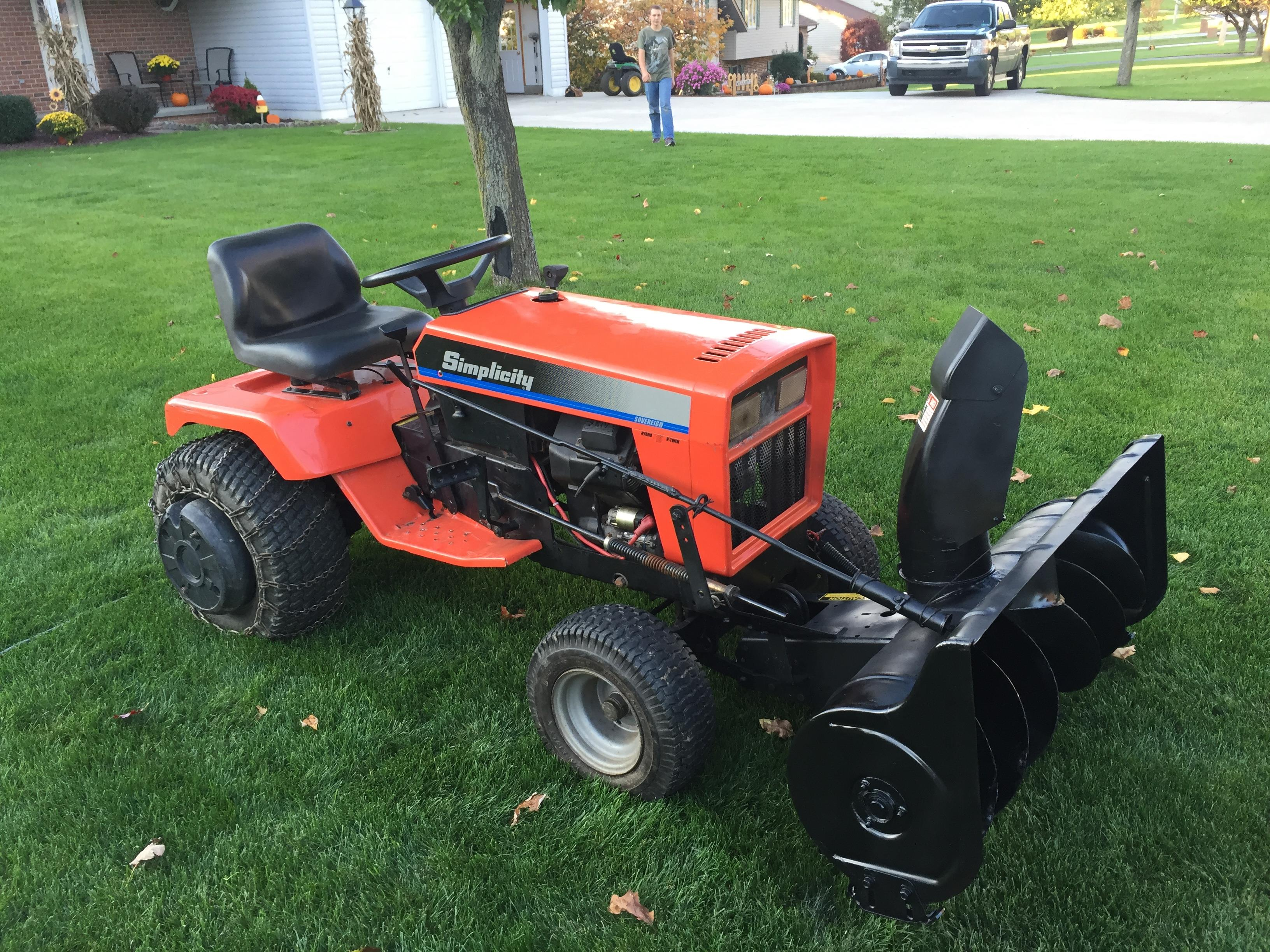For Sale: Simplicity Sovereign (PA) - MyTractorForum com