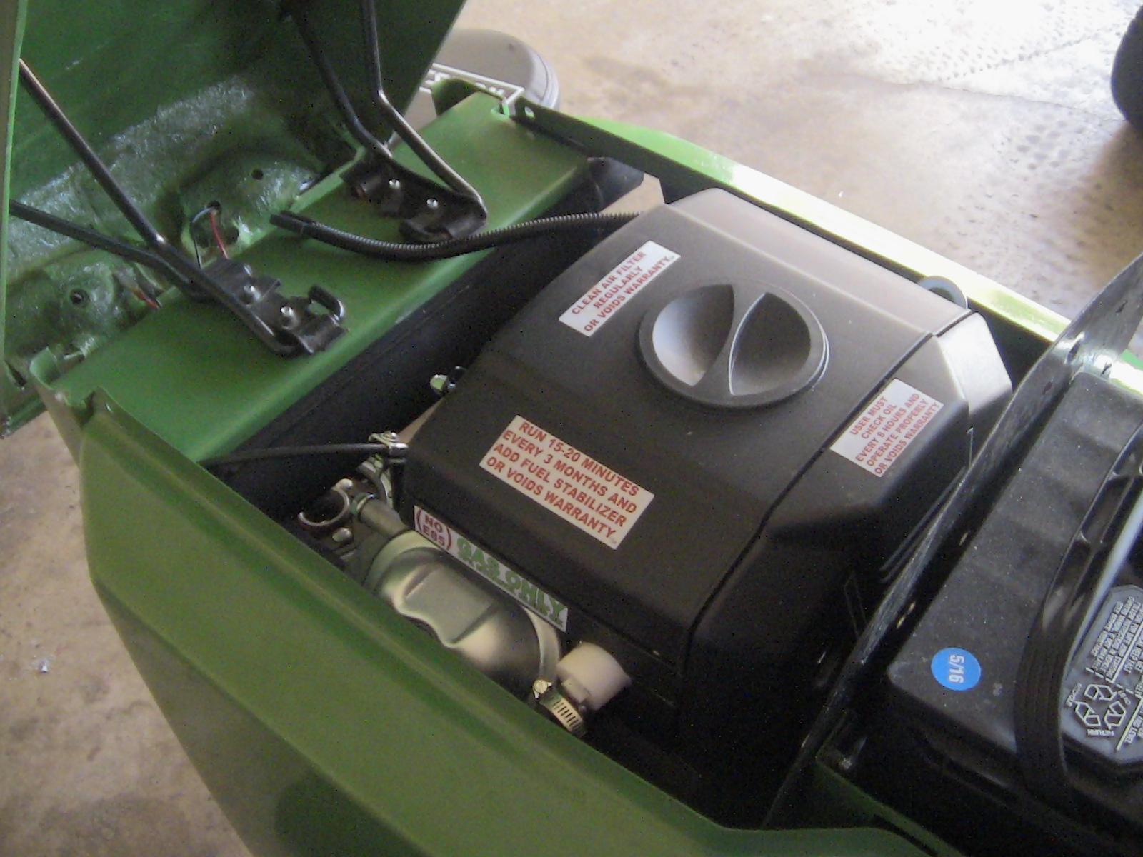 Predator 670 Exhaust