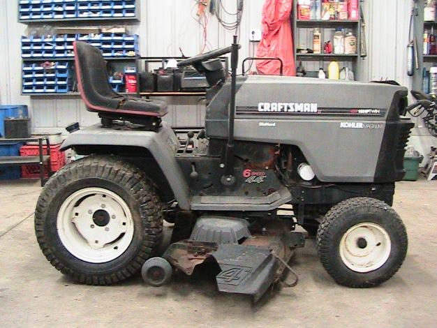 Craftsman Gt6000 18 Hp Garden Tractor - Garden and Modern
