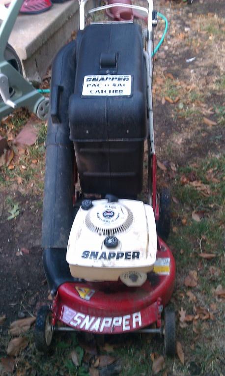 Snapper Pac-N-Sac 1-8713 7043005YP  Grass Catcher Housing
