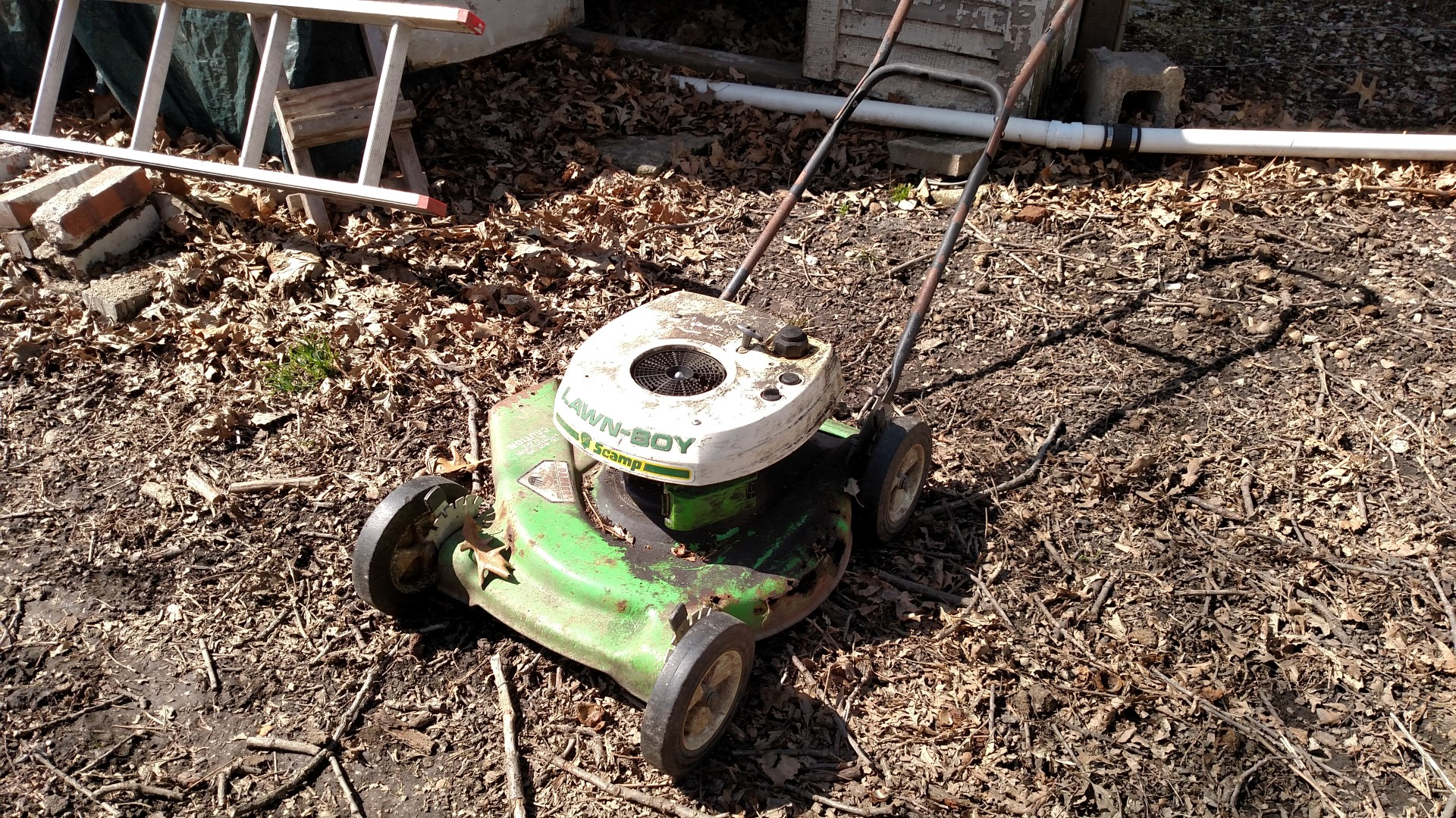 lawn boy scamp mytractorforumcom the friendliest tractor forum
