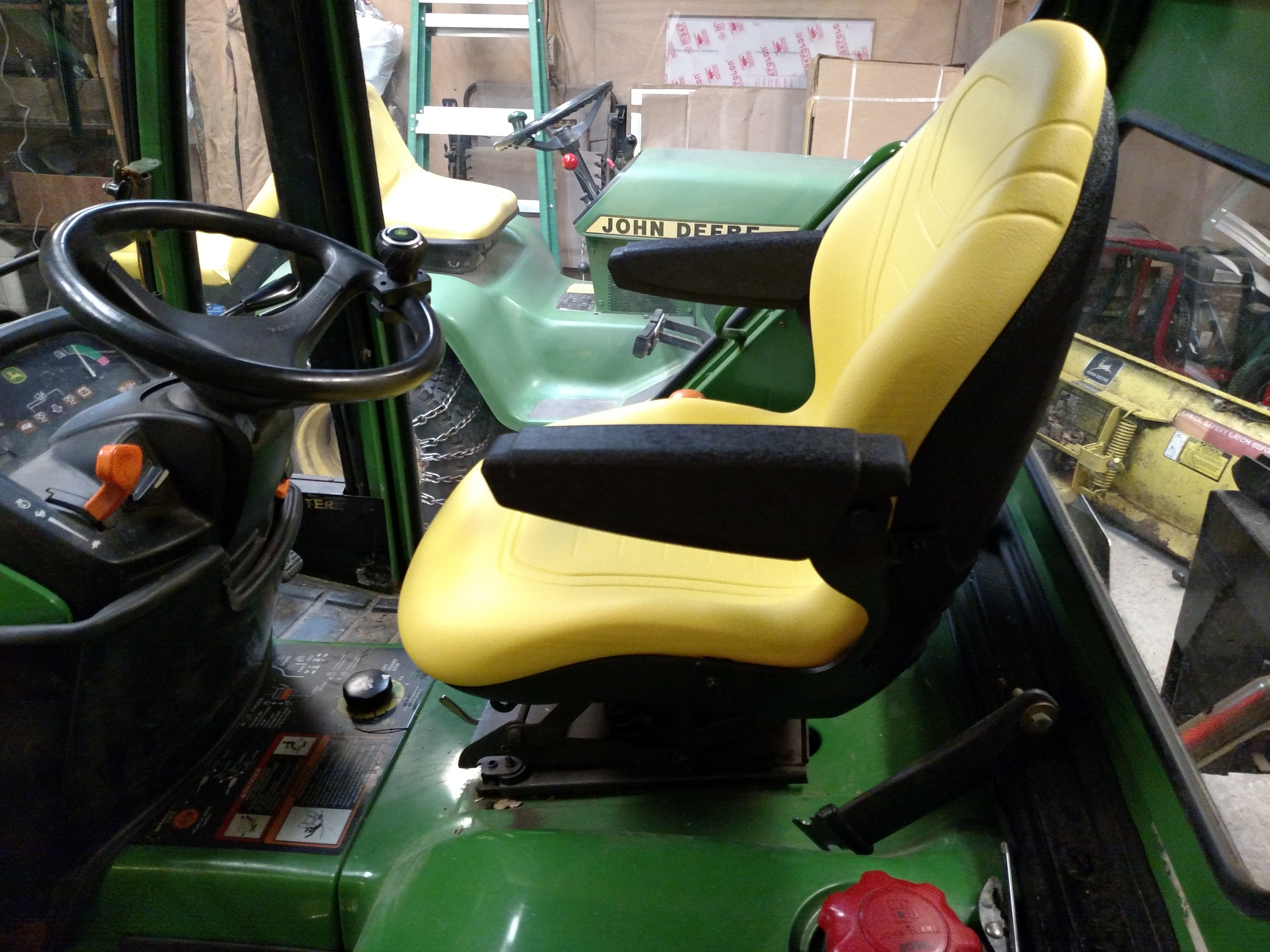 If you are looking for a new seat       - MyTractorForum com