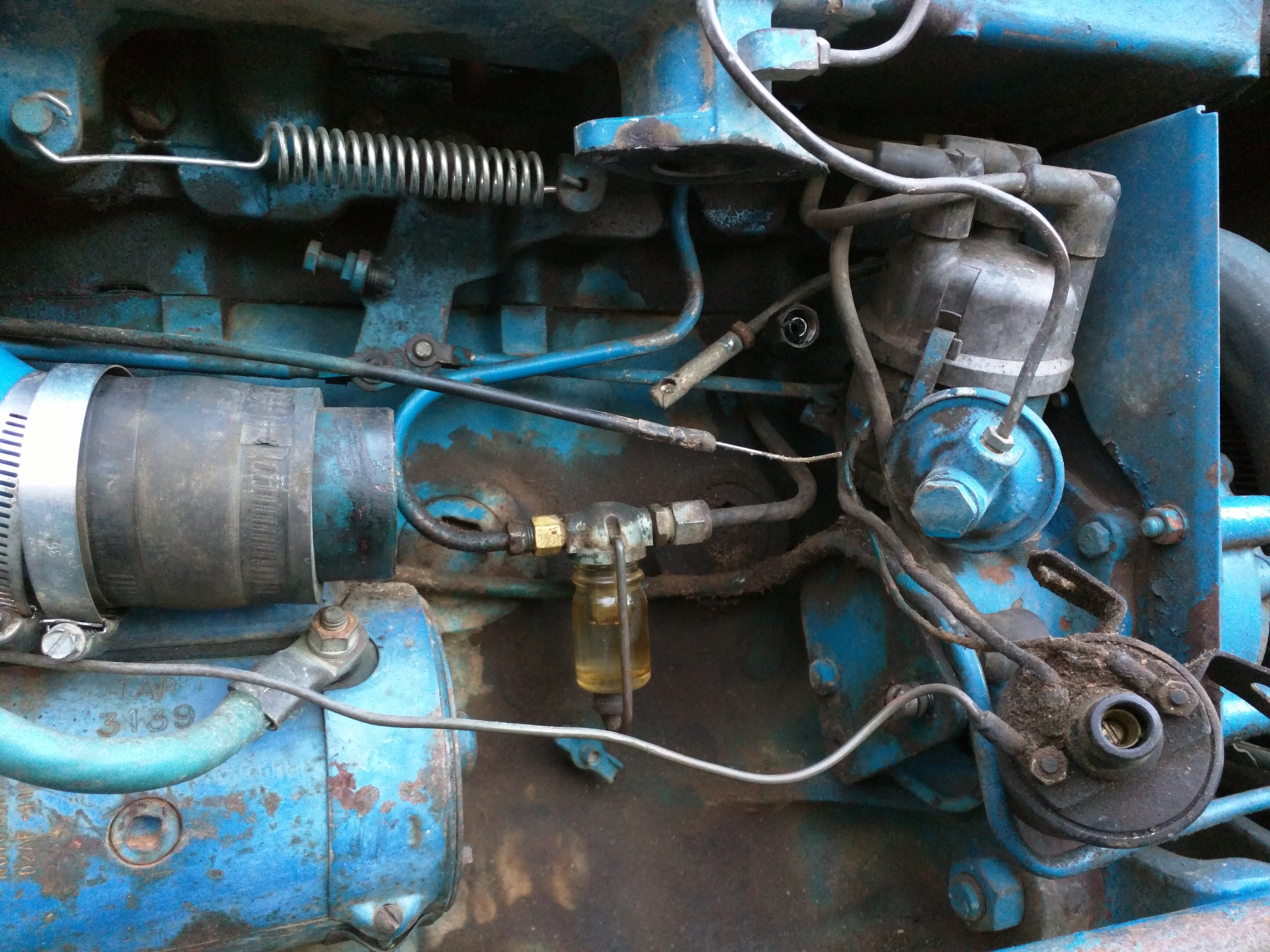 Ford 2000 3cyl Gas Ignition Questions The 1970 Tractor Wiring Click Image For Larger Version Name Img 20160321 183448 Views 223 Size 321