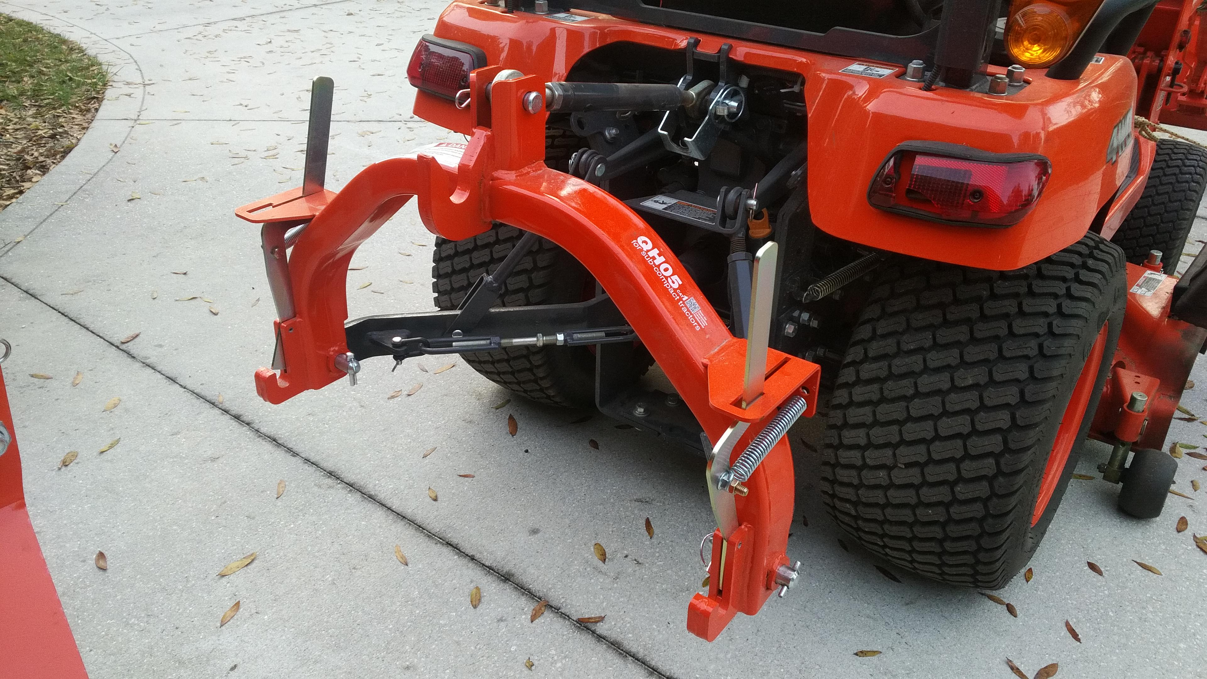 Landpride Quick Hitch QH05 - MyTractorForum com - The