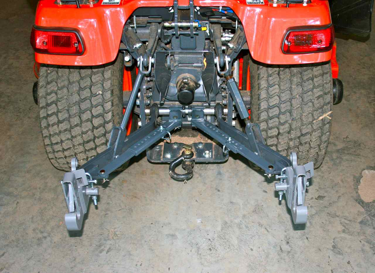 Pics of my BX telescopic stabilizer upgrade - MyTractorForum