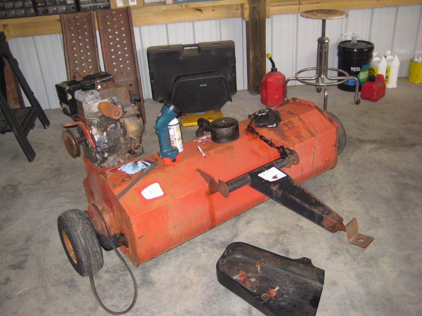 Mott T38 Pull-Behind Flail Mower - MyTractorForum com - The
