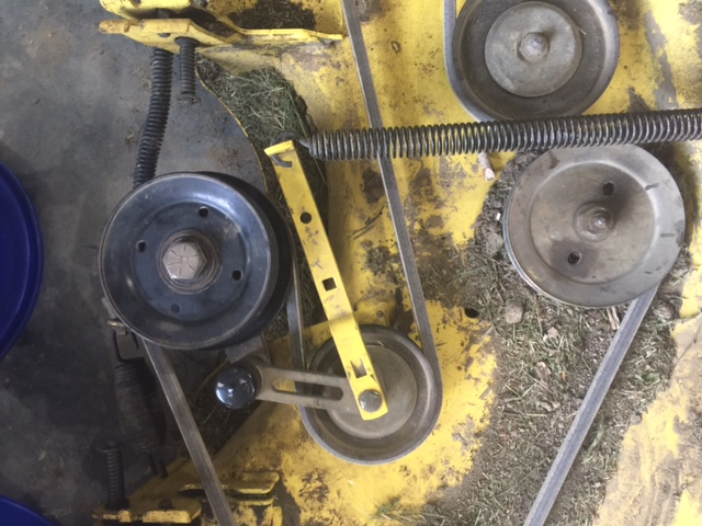 John Deere Gt235 Belt Replacement