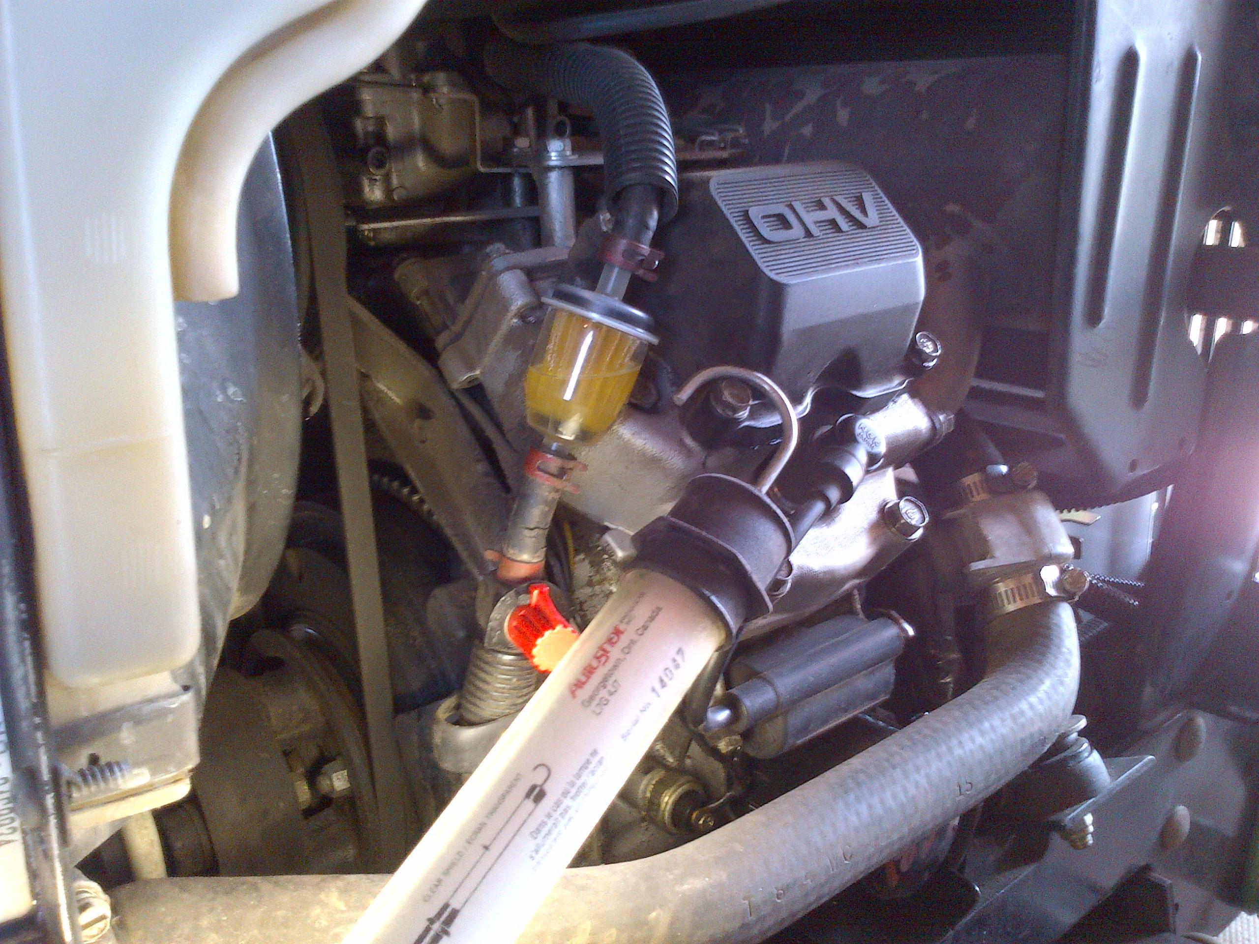 John Deere Fuel Filter Replacement