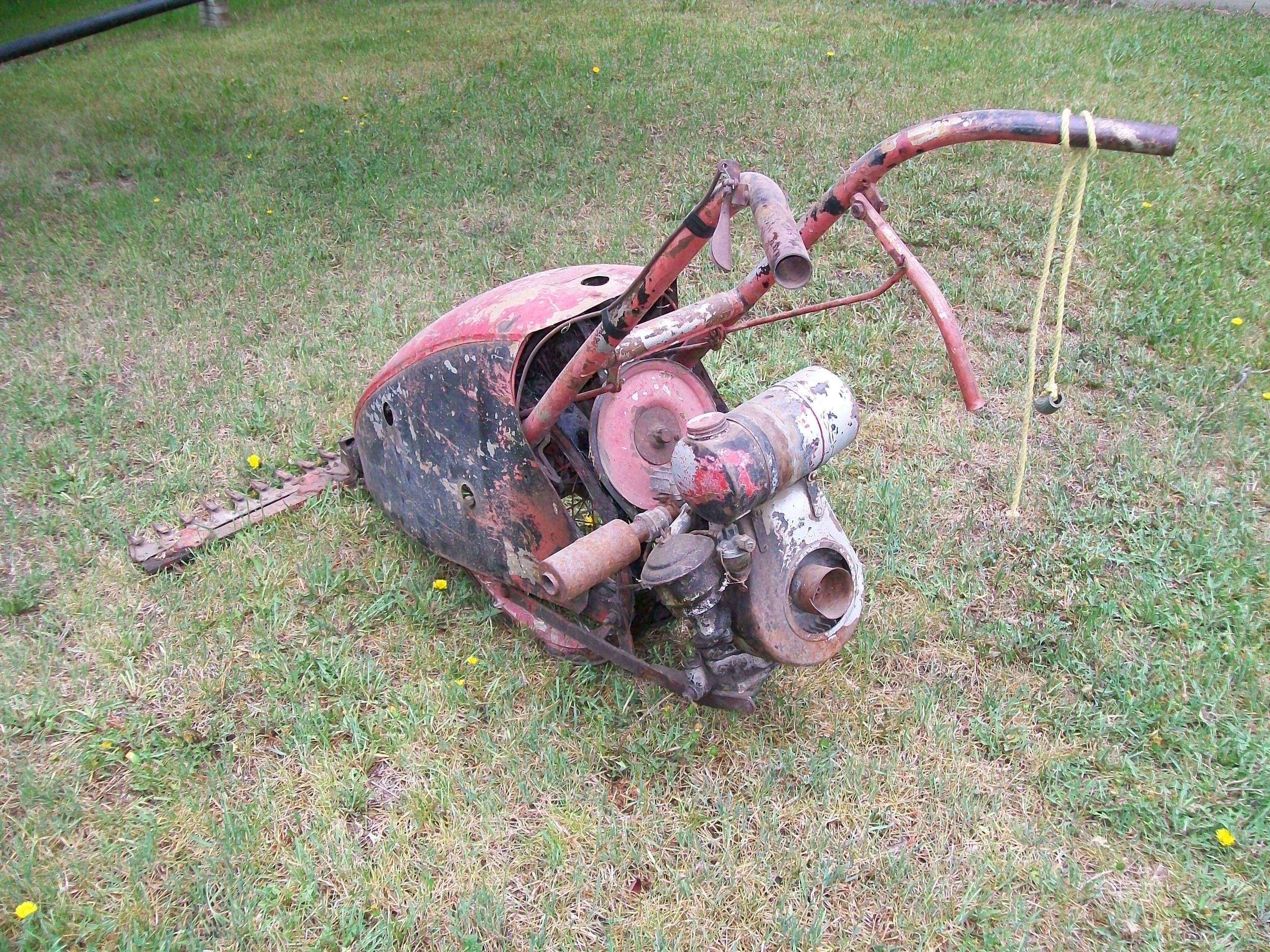 Jari Minneapolis 8 Sickle Mower (36