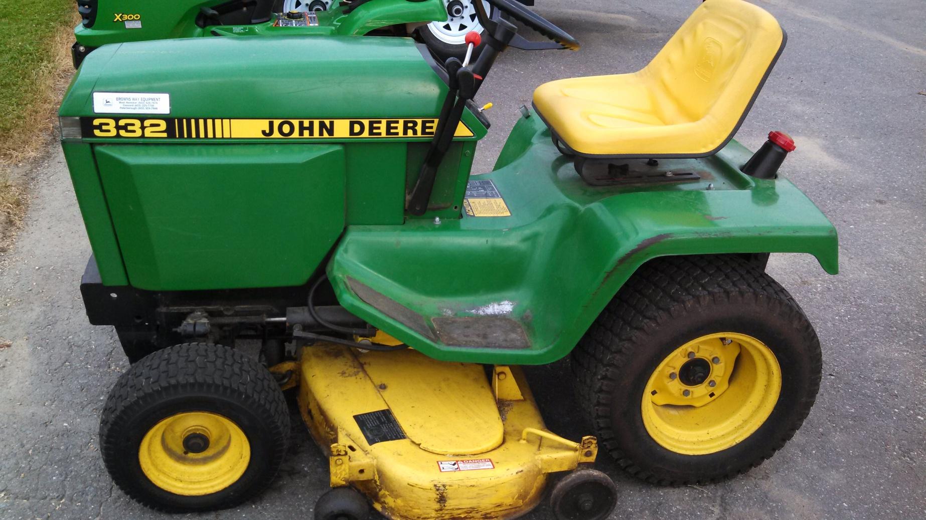 John Deere 332 >> Nice 332 Mytractorforum Com The Friendliest Tractor Forum And