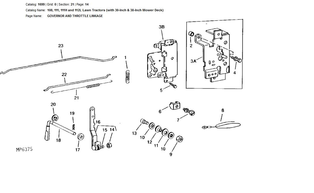 30 John Deere 111 Wiring Diagram