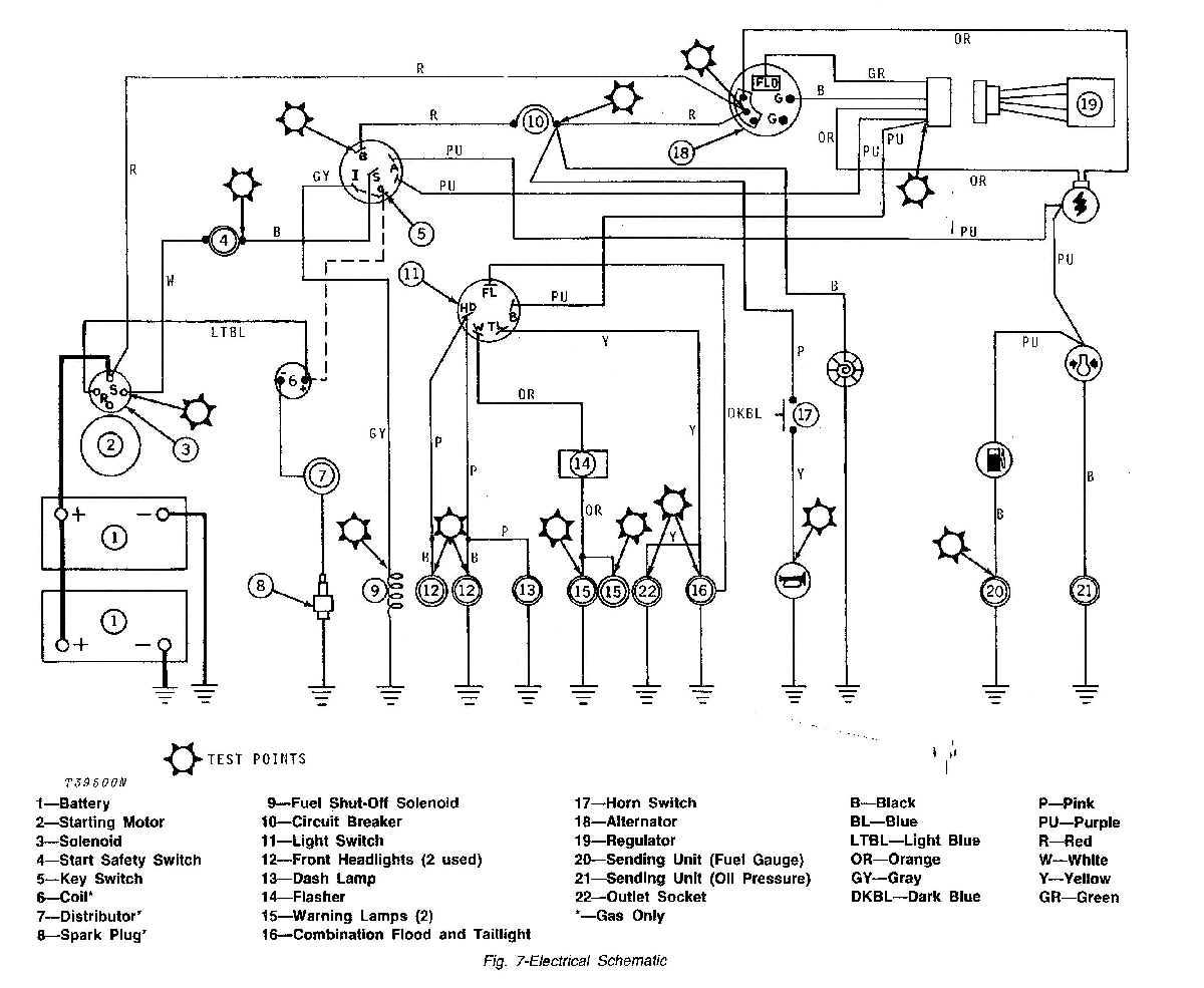 john deere 54 wiring diagram