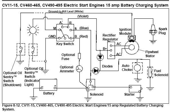 Kohler Cv16s Wiring Diagram - Wiring Schematics