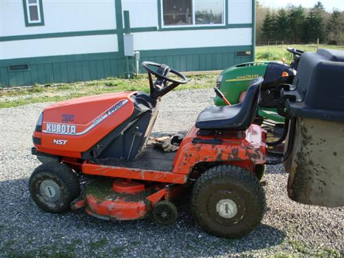 I Cannot Resist Kubota T1400H for $400 00 - MyTractorForum