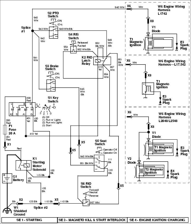 john deere pto wiring diagram john deere l120 pto clutch wiring diagram wiring diagram wiring diagram for john deere l120 mower