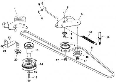 belt diagram lx178 cat c11 belt diagram john deere l&g belt routing guide - mytractorforum.com ...
