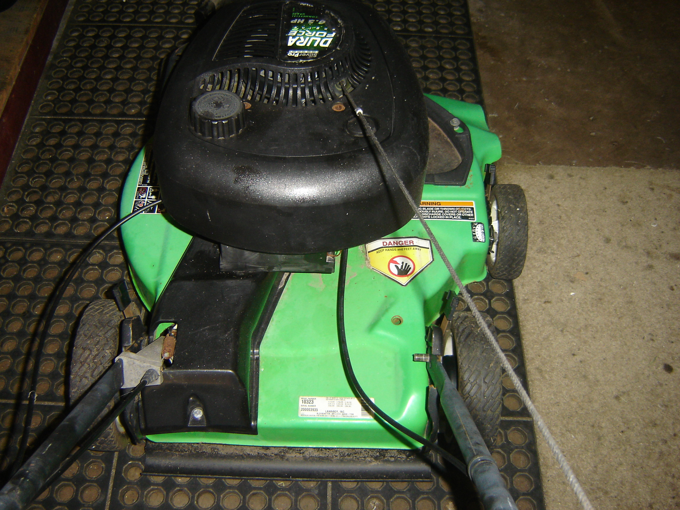 The Tale Of Two Lawnboy Mowers Mytractorforum