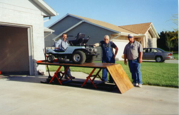 mower lift table - mytractorforum - the friendliest tractor