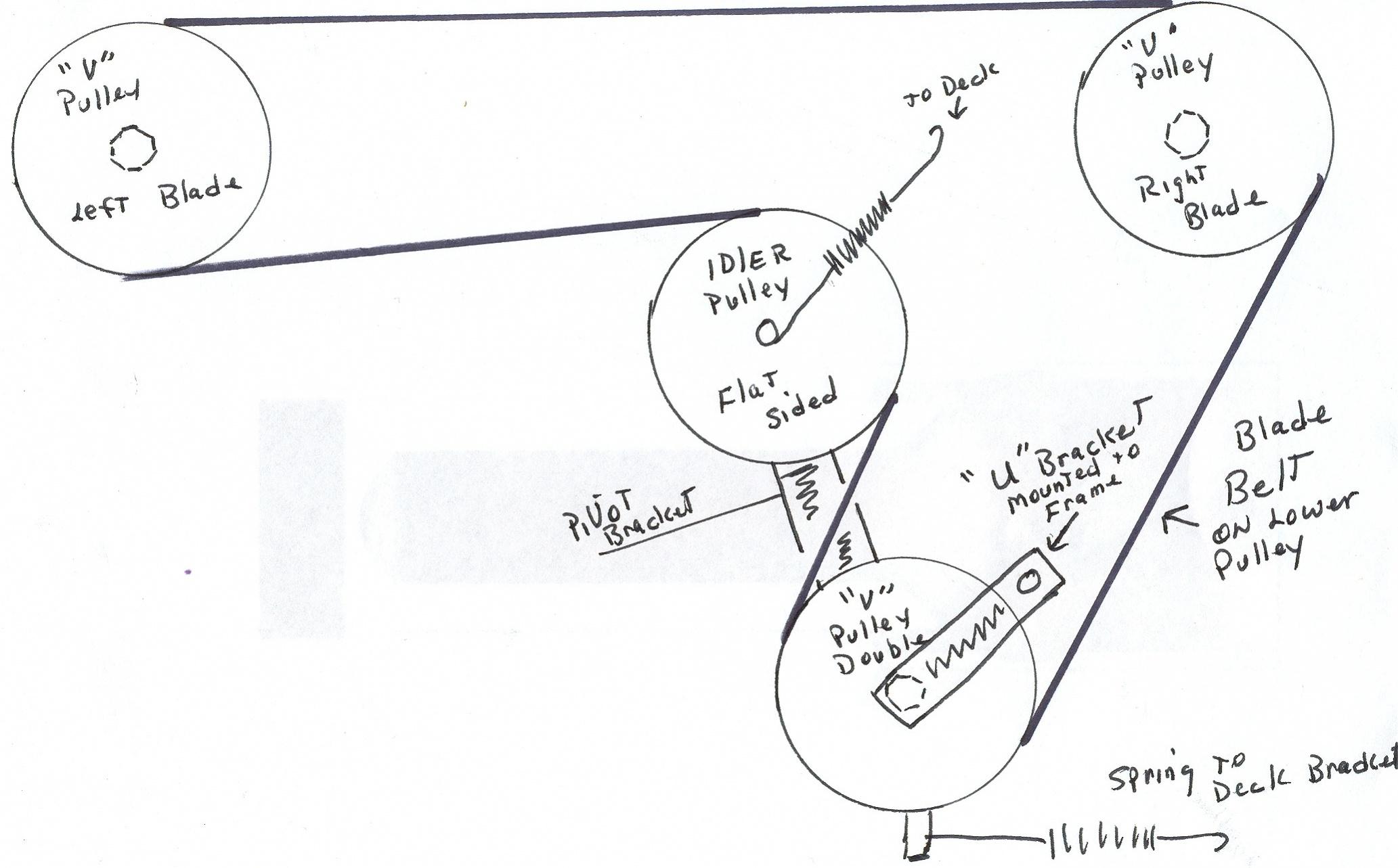 Stx38 Drive Belt  U0026 Deck Belt Routing Diagrams