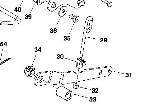 X500 M-T Series Hydraulic Deck Lift Cylinder