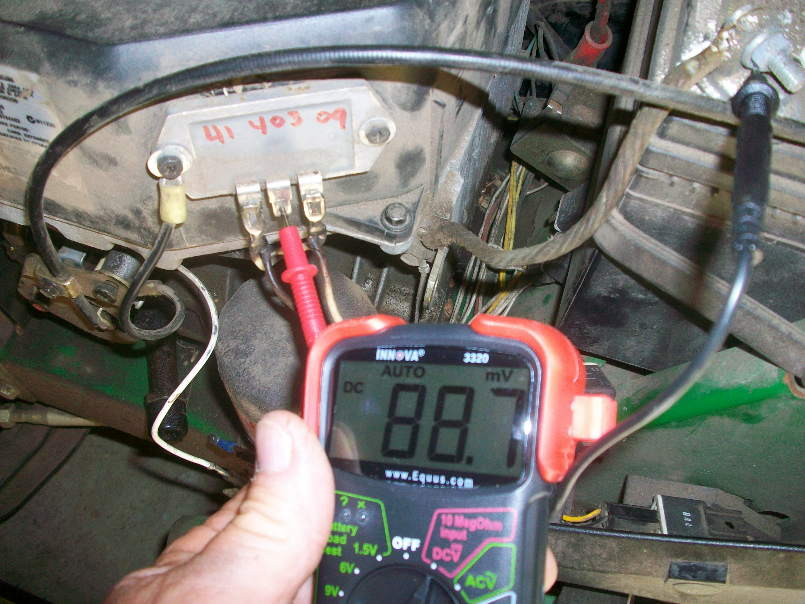 Bad Deere Day Burned Wiring The Friendliest John 5065e Diagram Click Image For Larger Version Name Lt160 005 Views 559 Size