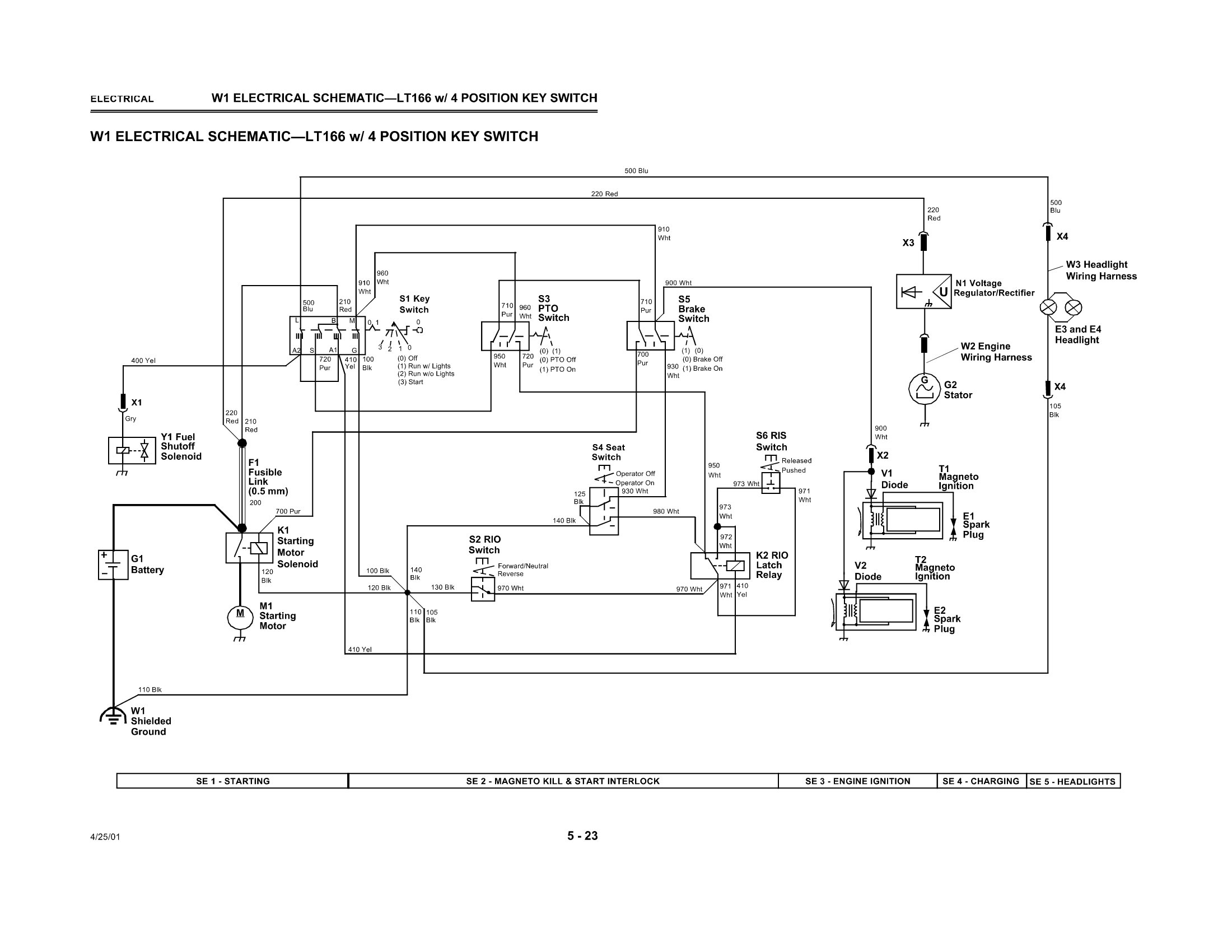 John Deere Lt155 Wiring Diagram Colored Diagrams F911 Engine Catalog Auto Lt133 Schematic Parts