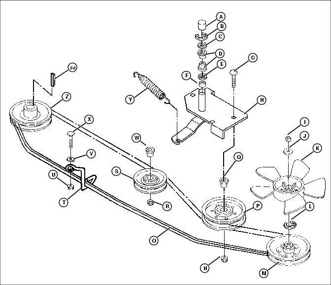 John Deere Lt150 Belt Diagram, John, Free Engine Image For