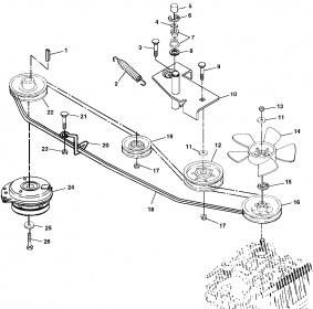 belt diagram lx178 john deere l&g belt routing guide - mytractorforum.com ... #3