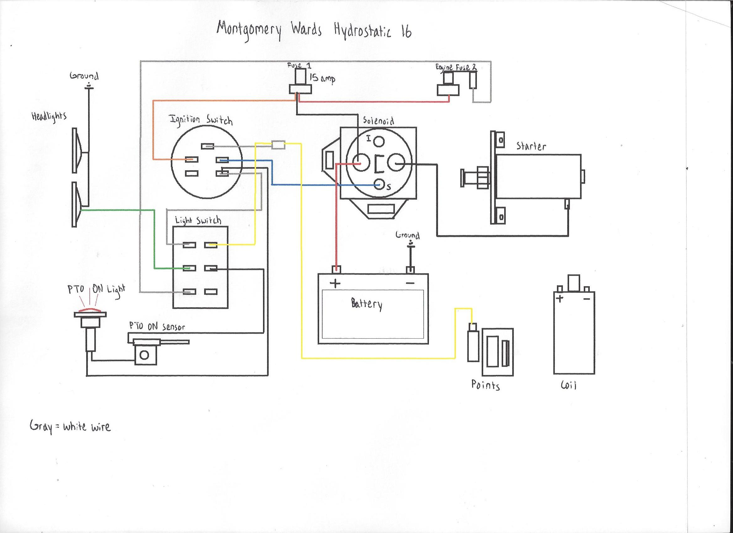 new to me montgomery wards hydrostatic 16 page 2 click image for larger version m wards wiring diagram jpg