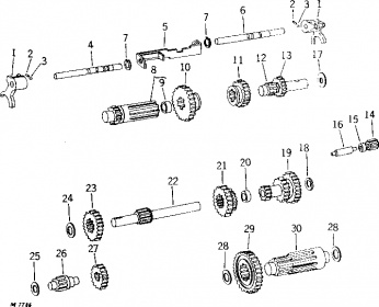 Farmall M Carb Parts Diagrams as well 6 Volt Car Wiring Diagram likewise 8n Front Distributor Wiring Diagram in addition 1952 Farmall Cub Wiring Diagram together with Troy Bilt Solenoid Wiring Diagram. on farmall h tractor wiring diagram