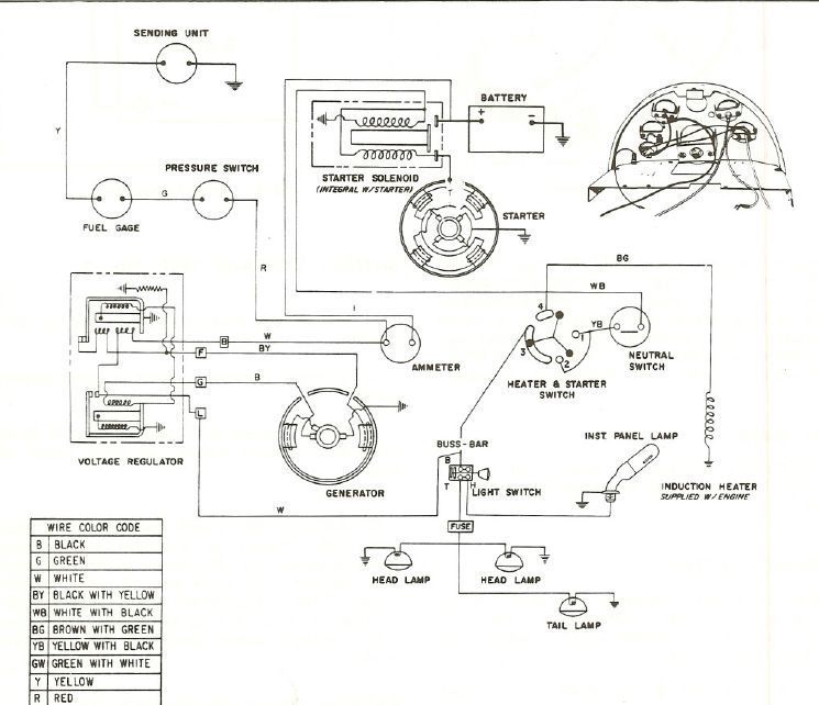 Electrical problems mytractorforum the friendliest tractor click image for larger version name mf65 wiring diagramg views 491 size publicscrutiny Gallery