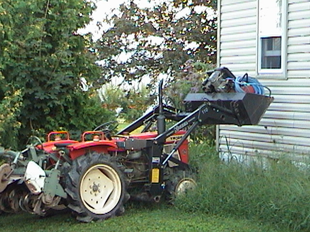 Can a YM1500d be fitted with FEL - MyTractorForum com - The