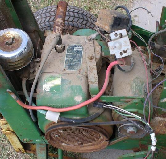 67 John Deere 110 Starter-Generator - MyTractorForum.com ... K Starter Generator Wiring Diagram on