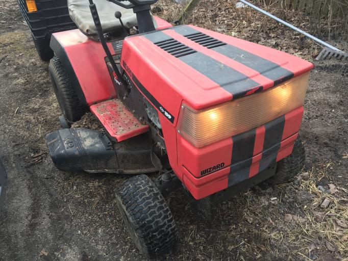 Husqvarna 584367901 Clear Headlight Bar Lens Craftsman Poulan Lawn Tractors
