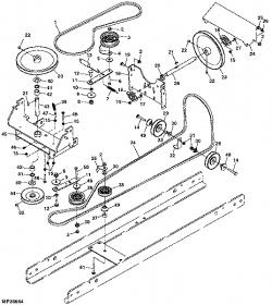 John Deere 425 Parts Diagram
